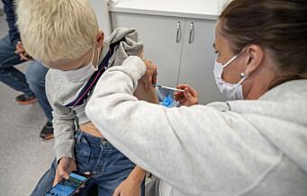 Oslo-barn født i 2009 og som har fylt 12 år, kan ta drop-in vaksine fra mandag 20. september