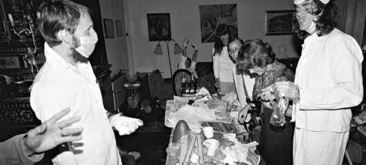 Valgkampens frekkeste utspill! De gravde i søpla til Gro Harlem Brundtland og Kåre Willoch og skapte sensasjon