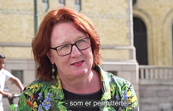 Bjørg Sandkjær (SP): – Serveringsbransjen er en kjempeviktig bransje for Oslo. Mange steder er nervøse og har strukket seg veldig langt for ikke å gå over ende: Se videoen