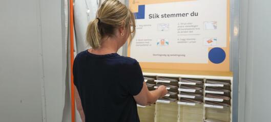 Oslo har flest velgere med høy utdanning, innvandrerbakgrunn og som er kvinner