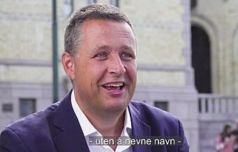 Espen Andreas Hasle (Krf): – Satsingen på sykkel i byen, stiller vi oss absolutt bak. Se videoen