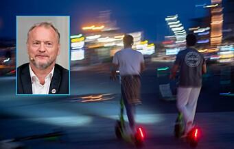 Raymond Johansen: – Nå tar vi tilbake kontrollen over gater og fortau. Jeg er utrolig glad og letta