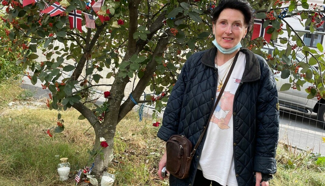 Anne Cathrine Nilsen har i 20 år jobbet for å hedre minnet om de 343 falne brannkollegene fra World Trade Center.