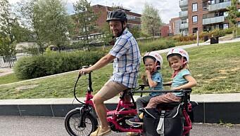 Nå kan du låne deg en el-lastesykkel helt gratis. Se hvor