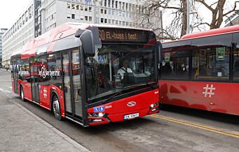 Alle busser i Oslo skal bli elektriske