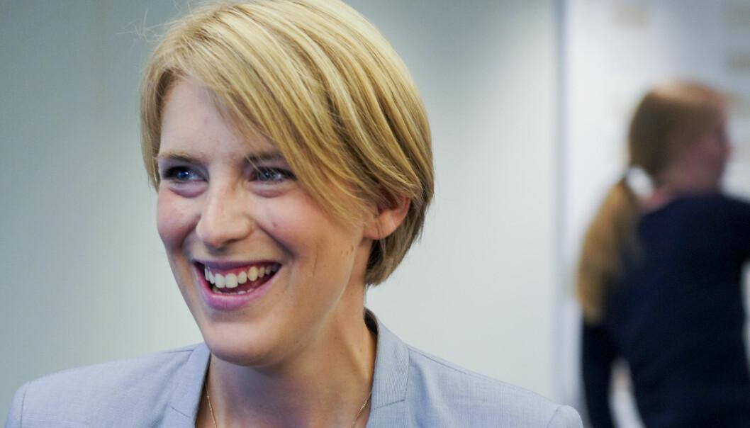 SV får tre mandater inn fra Oslo på VGs nye Oslo-måling. Her er førstekandidat Kari Elisabeth Kaski.