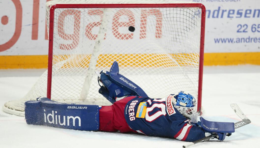 Steffen Søberg og Vålerenga ishockey møtte overraskende sterk motstand i Fredrikstad.