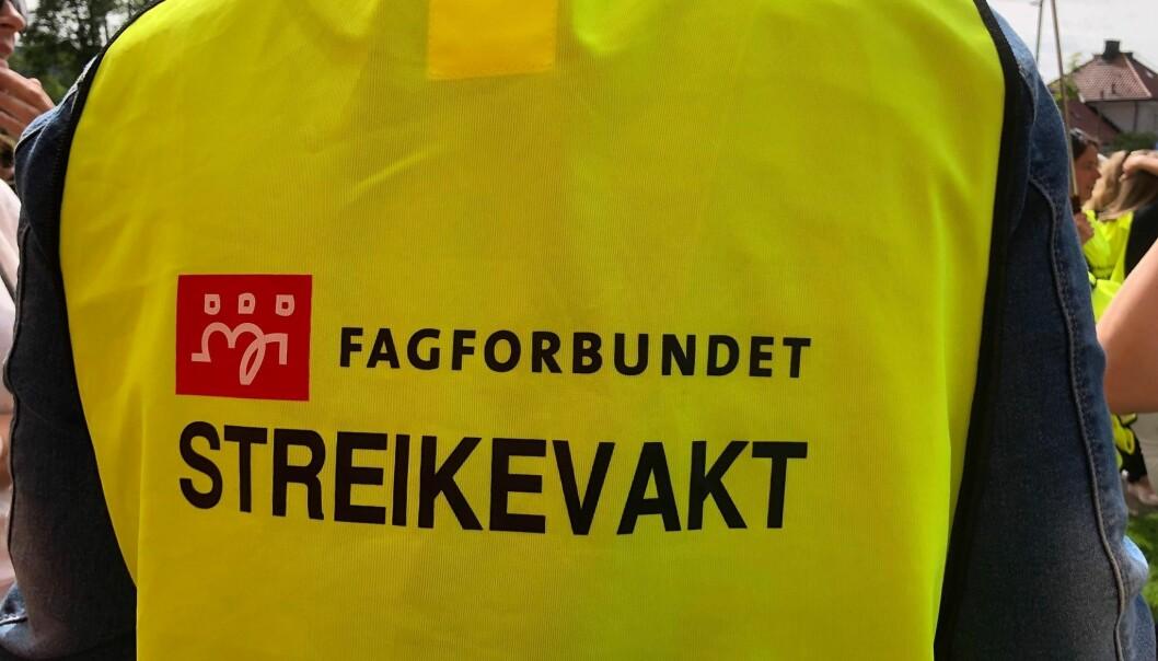 Fra onsdag morgen kan det bli streik om lønn ved St. Hanshaugen omsorggssenter.