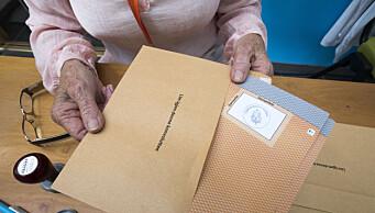 174 personer har stemt hjemmefra i Oslo