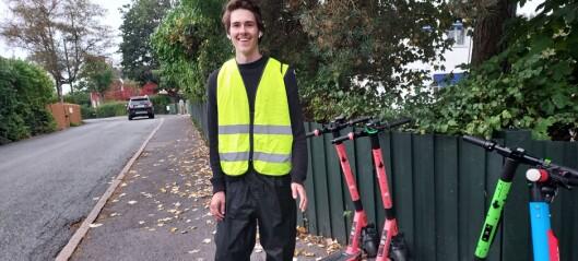 Her samler VOI inn elsparkesyklene sine. På onsdag skal 15.000 elsparkesykler være borte fra gatene