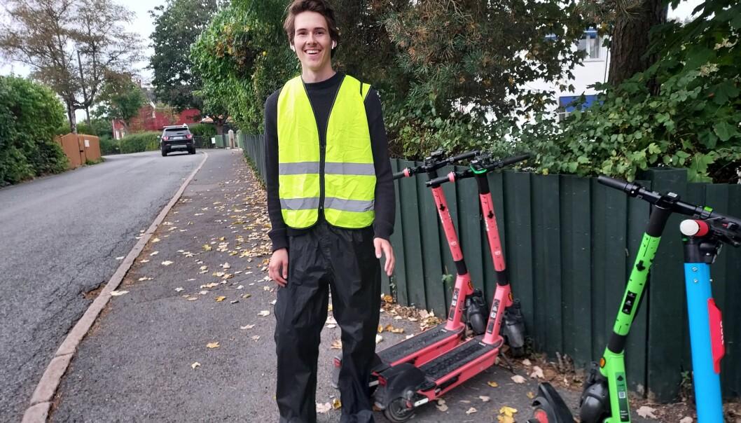 På onsdag skal alle de døde elsparkesyklene være ryddet fra byens gater, parker og skråninger.