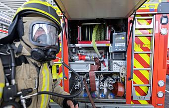 Brann i restaurant i Pilestredet. Flere personer evakuert fra bygningen
