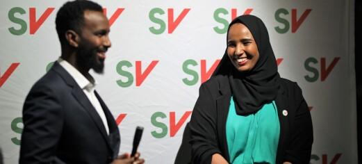 SVs supervalg i Oslo: Norsk-somaliske Marian Hussein skaper historie