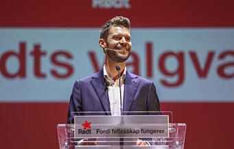 – Dette valget skal markere slutten på nyliberalismen! Rødt gjør et historisk valg