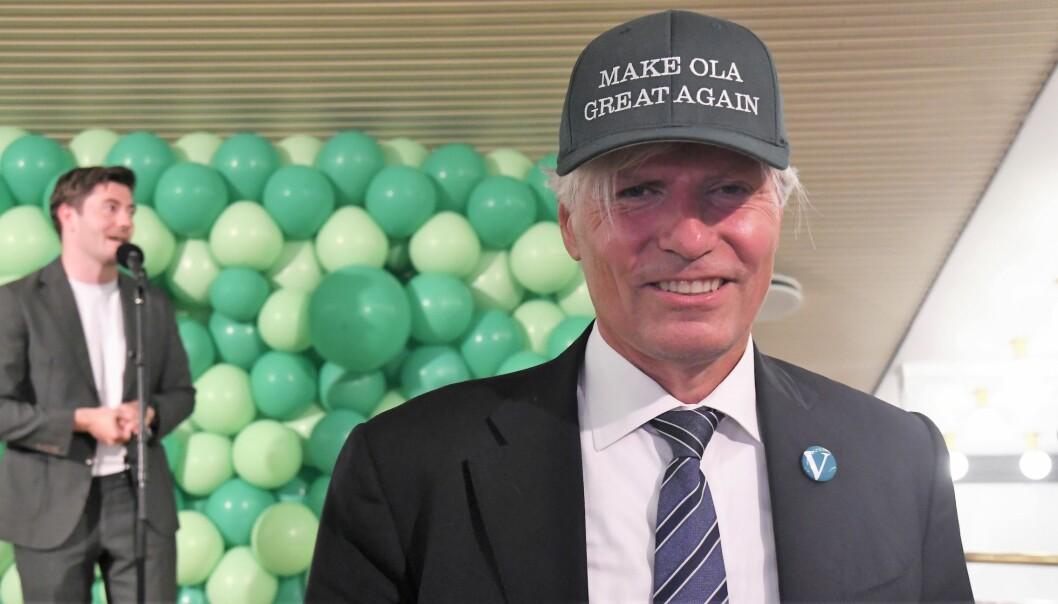 Oslo Venstres Ola Elvestuen er klar for fire år på oslobenken på Stortinget.