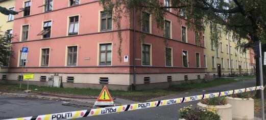 En person pågrepet etter brann på Torshov. Naboer forteller om mye trøbbel i belastet og utrygt bomiljø
