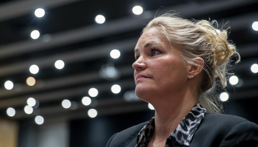 – Vi er happy med at MDG ikke kom over sperregrensa, sier Cecilie Lyngby, leder av Folkeaksjonen Nei til mer bompenger.