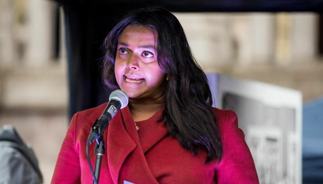Kamzy Gunaratnam (Ap) går av som varaordfører i Oslo når hun tiltrer som stortingsrepresentant.