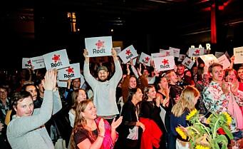 Rekordvekst for Rødt Oslo: Fikk 268 nye medlemmer iløpet av døgnet etter valget