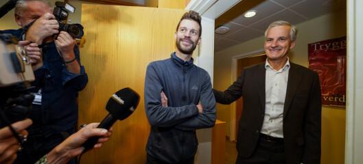 Moxnes før Støre-møte: – Ønsker Oslo-modellen på Stortinget. Støre etter møtet: – Nei takk