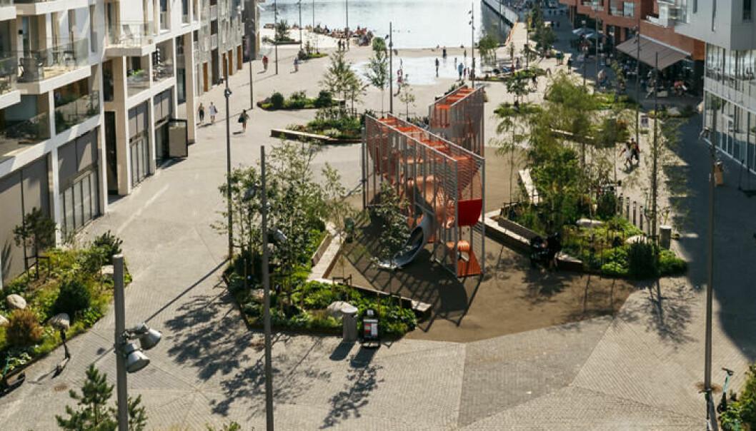 Stasjonsalmenningen sør er en av mange offentlige rom som er foreslått og nominert til Oslo bys arkitekturpris.