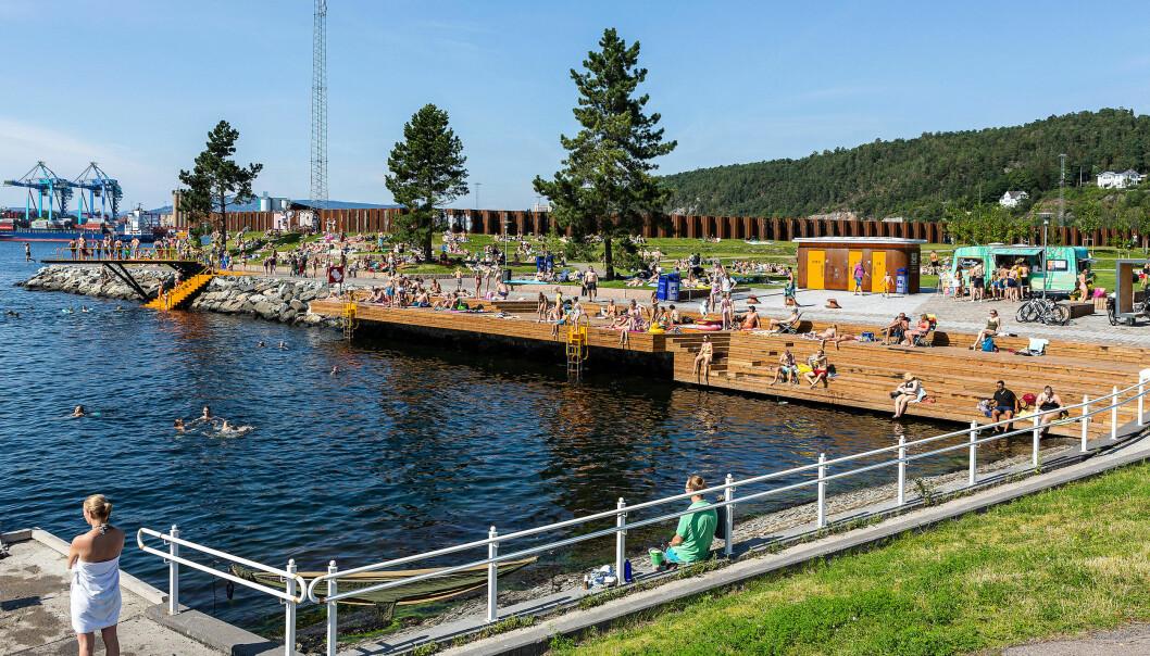 Bekkelagsbadet er blitt et friluftsområde til glede for fellesskapet.