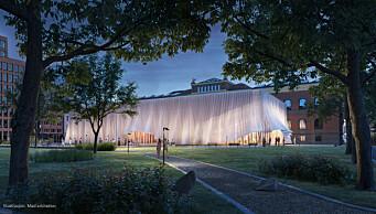 Slik vil arkitektene i Mad at det midlertidige Nationaltheatret skal se ut