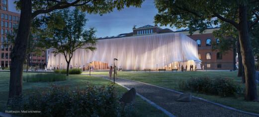 Slik vil arkitektene i Mad at det midlertidige Nationaltheateret skal se ut