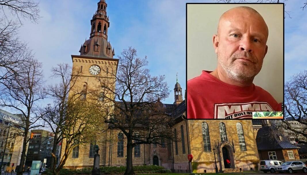 Her, fra Domkirken, begraves legen Sverre Eika.