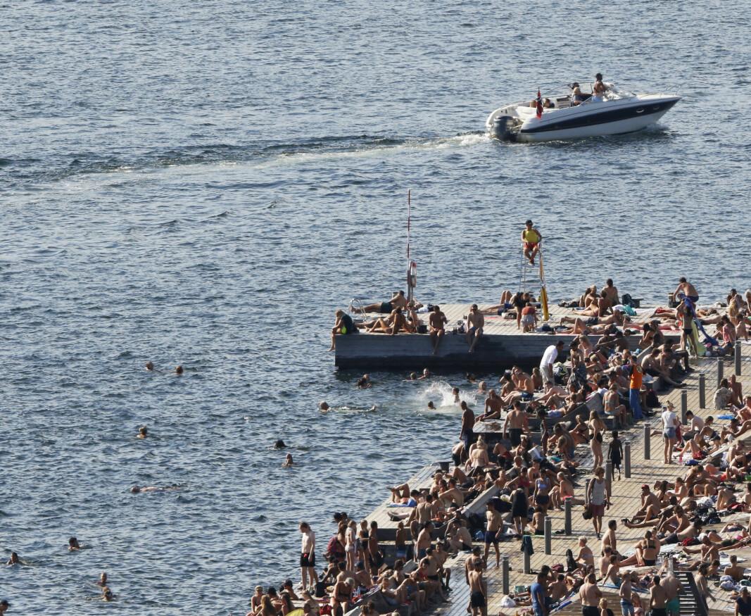 Om bord i den 31 fot lange båten hadde den 40 år gamle mannen fire passasjerer da han ble stanset av politiet. Båten på bildet har ikke noe med dommen mot 40-åringen å gjøre.