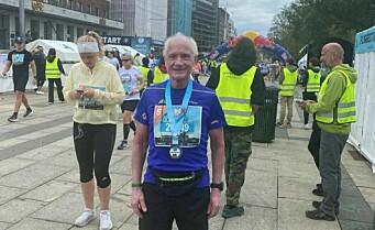 Veteranløper Kjell Olav (79) fra Røa med ny bestetid i Oslo Maraton: - Regner med å vinne den eldste klassen neste gang