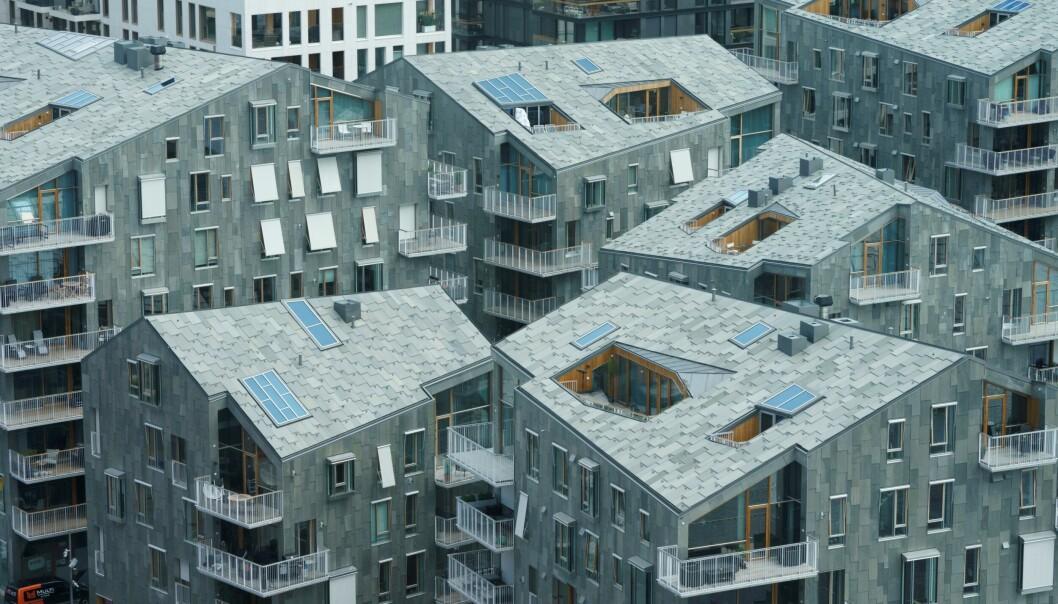 Vannkunsten er ett av Bjørvikas nyeste boligprosjekter, og er blant de nominerte til Oslo bys arkitekturpris.
