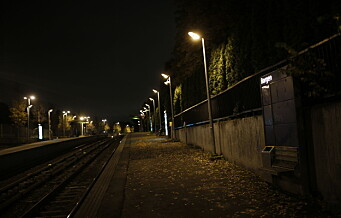 Åtte ran ved vestlige T-baner i helgen: - Alt, alt for mange. Vi ser dem i sammenheng, sier krimleder