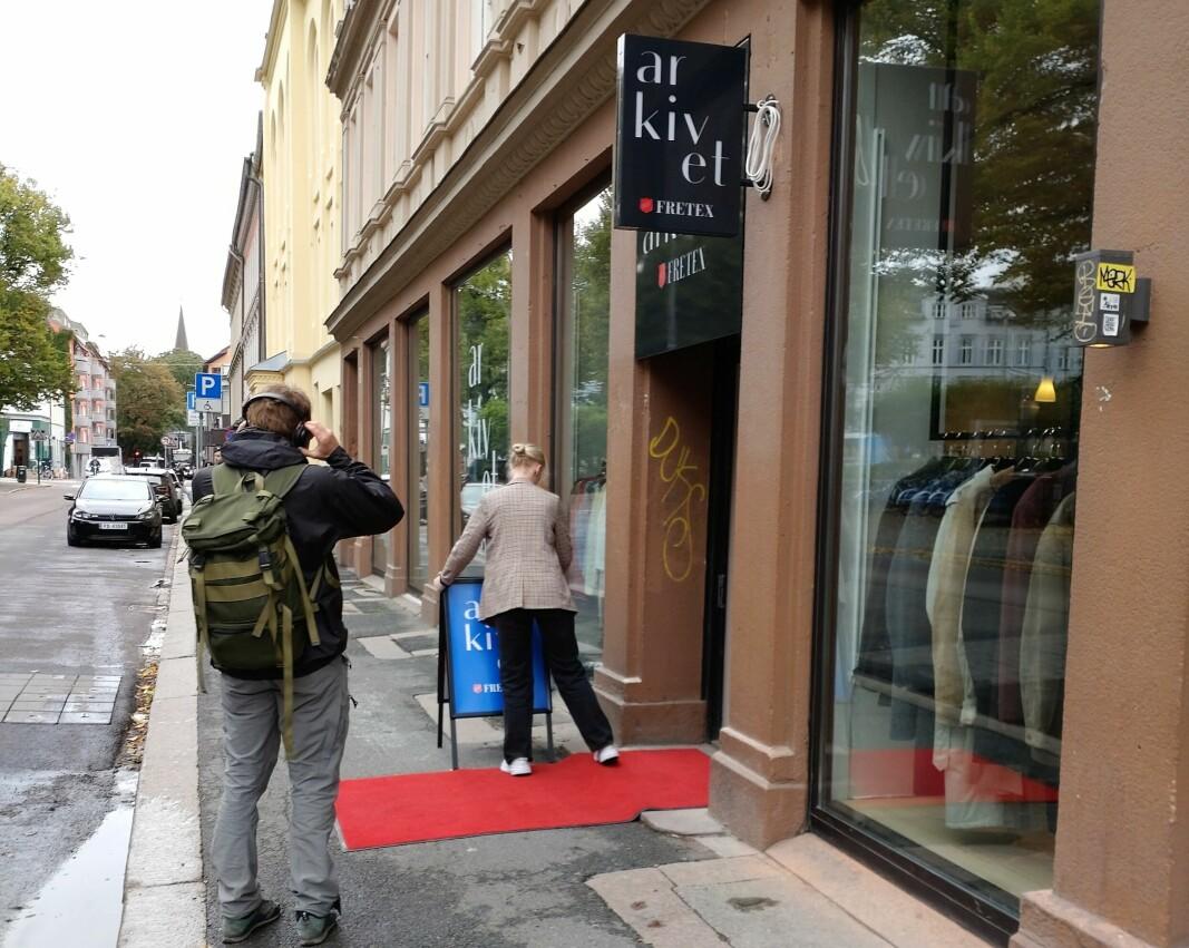 Grünerløkka Arkivet åpner dørene for første gang.