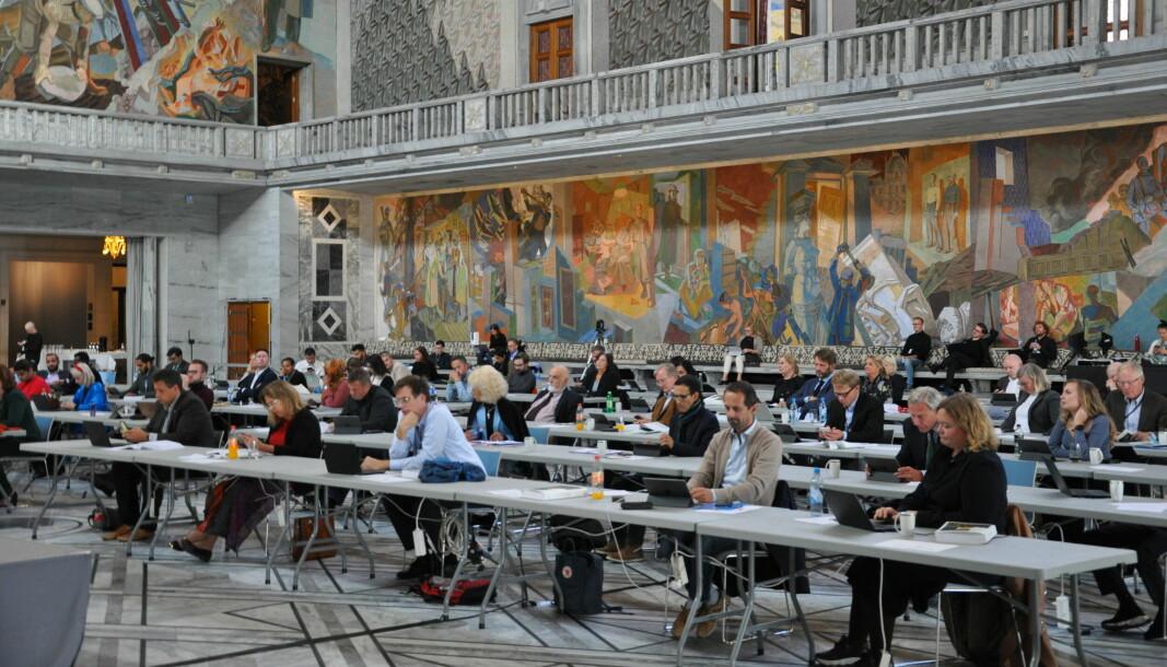 Ap og de borgerlige i bystyret stemte ned forslaget om lønnskutt til Norges best betalte kommunepolitikere uten å si et kløyva ord.