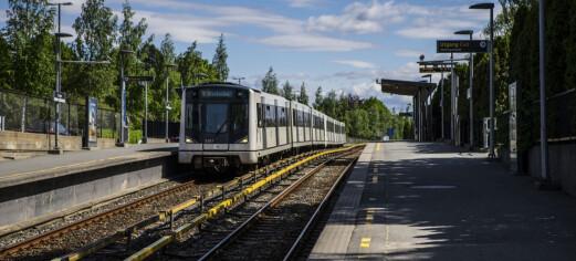 Politiet øker patruljeringen etter ran av barn og unge i Oslo
