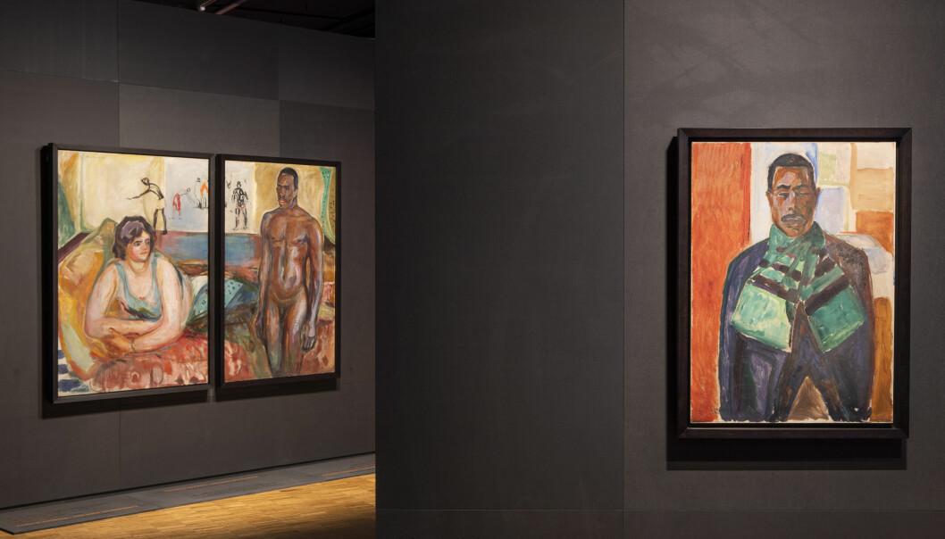 Fra Gi meg et navn-utstillingen ved dagens Munch-museum.