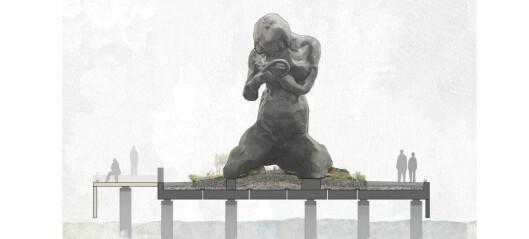 Skulpturen The Mother utsettes ett år, til neste sommer