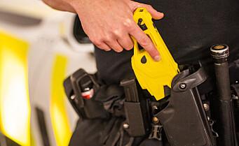 Utagerende mann skutt med elpistol av politiet på Torshov