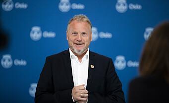 Raymond Johansen: – Nå åpner Oslo