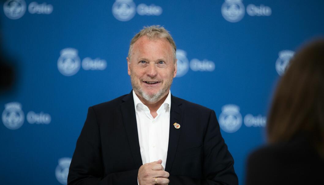 Byrådsleder i Oslo Raymond Johansen gleder seg over at hovedstadens kulturliv igjen kan blomstre.