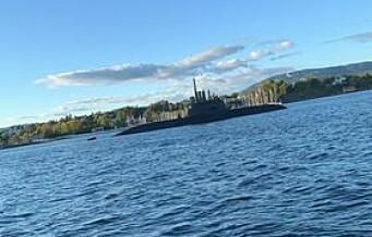 Se, en ubåt i Indre Oslofjord