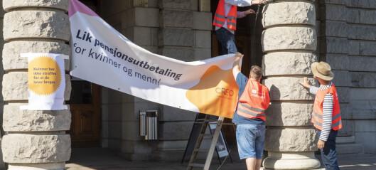 LO varsler kraftig opptrapping av kulturstreiken. Ytterligere 108 i streik i Oslo