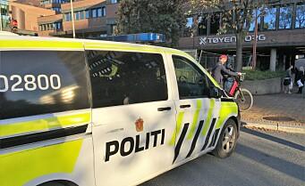 Masseslagsmål på Tøyen. Massiv tilstedeværelse fra politiet
