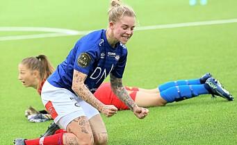 Sent mål ga Vålerenga seieren i hatoppgjøret mot Lillestrøm. — Dette var utrolig deilig, sier matchvinner Agnete Nielsen