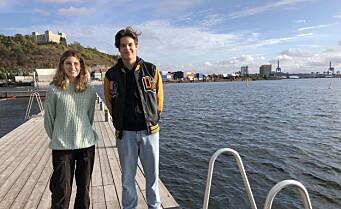 Hvordan skal siste del av Bjørvika bli? Lara (16) og Dino (15) vil ha det grønnere og mer ungdomsvennlig