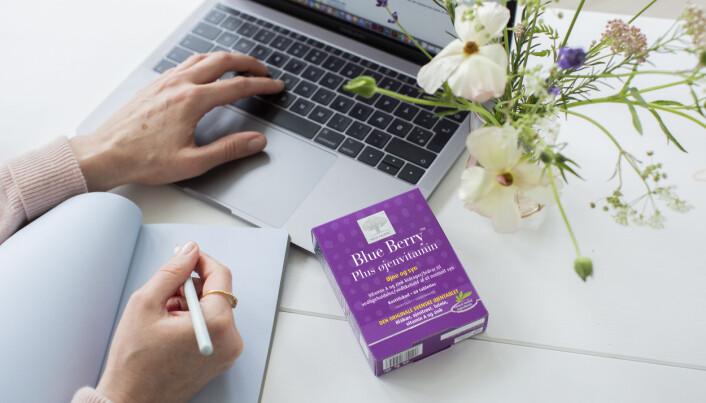 Fått vansker med synet med alderen? Preparatet Blue Berry kan hjelpe deg.