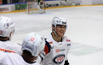 Hattrick-helt Axel Sundberg og Vålerenga lekte seg med MS. Vant til slutt hele 7-1