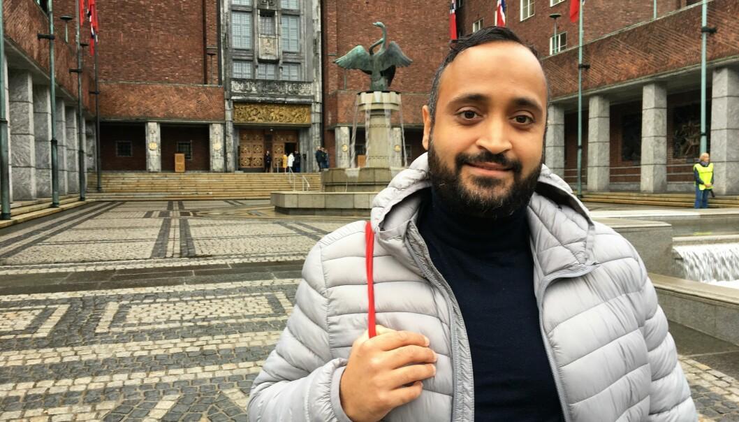 Ja, jeg stiller og er kjempemotivert til å ta over som varaordfører i byen, sier Abdullah Alsabeehg.