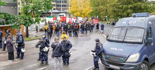- Rolige forhold under Sian-demonstrasjon på Furuset, opplyser politiet